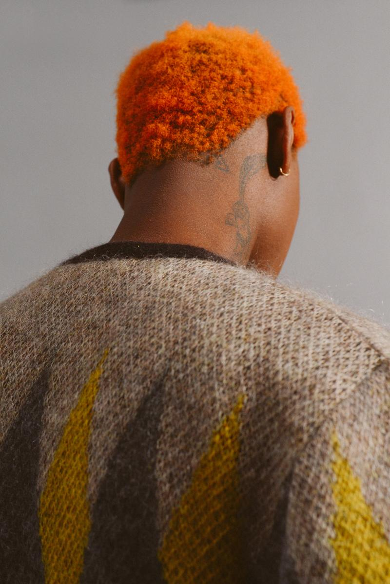 Brownstone Fall/Winter 2020 Collection Lookbook fw20 form void mohair cardigan