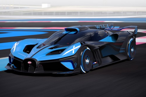 Bugatti Bolide Concept Is a 1,825 BHP, 310 MPH+ Track Attacking Machine