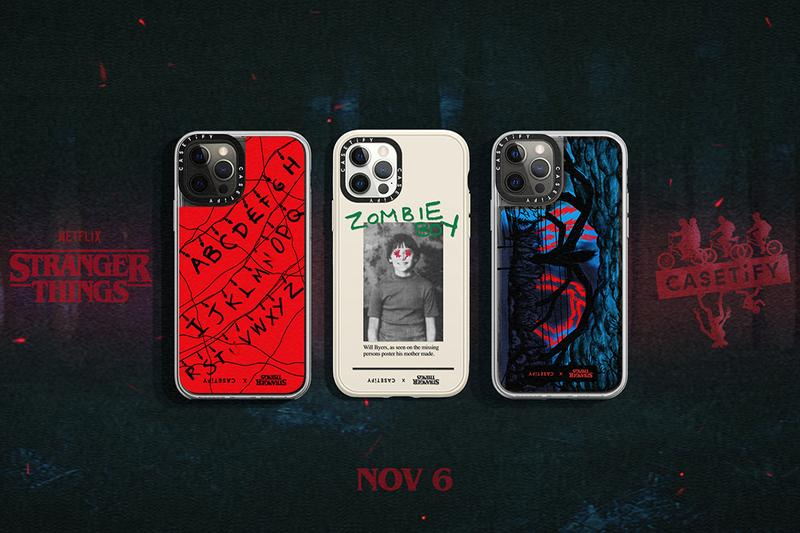 casetify stranger things Netflix iPhone case release information collaboration 2020
