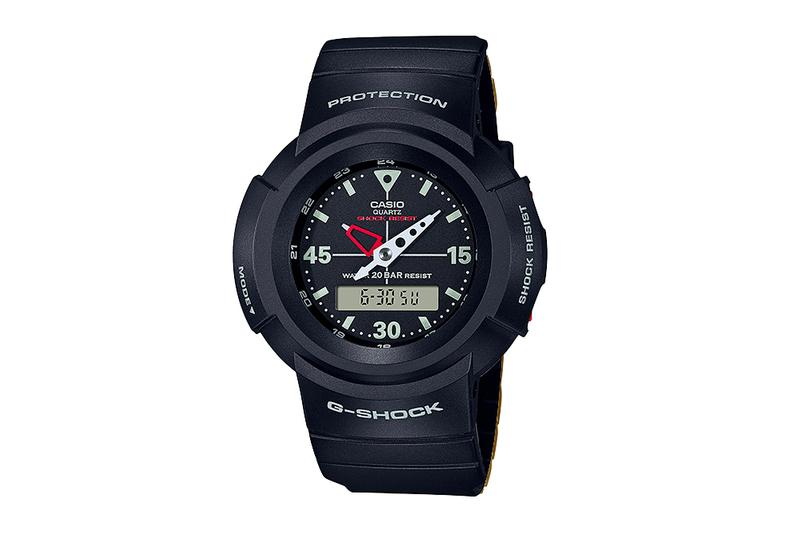 Casio G-SHOCK AW-500 Reissue News watches Japan Shock protection action sports watch Quartz
