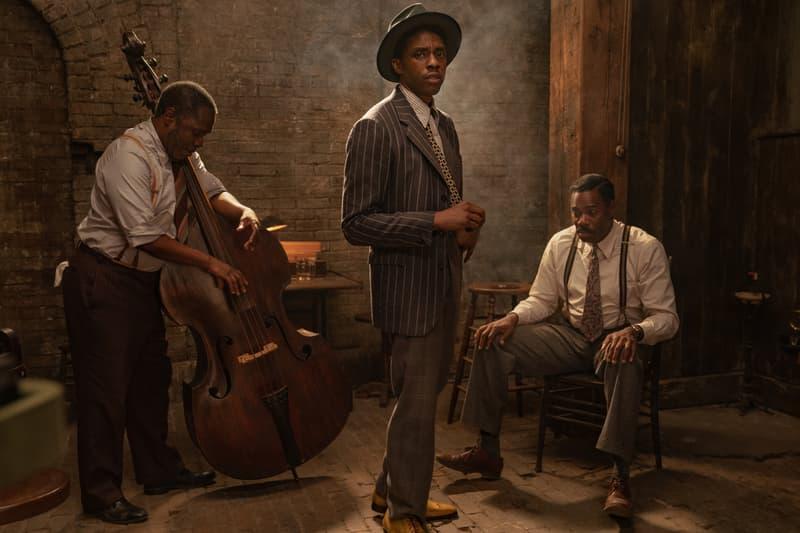 Chadwick Boseman final on screen role Netflix Black Bottom Trailer viola davis black panther