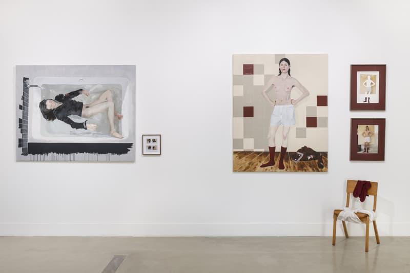 coco capitan naivy Maximillian William exhibition artworks paintings photography installation