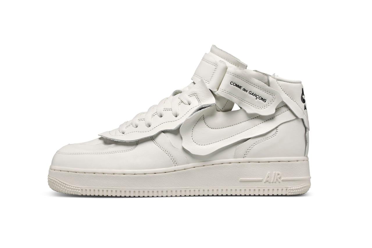 COMME des GARÇONS x Nike Air Force 1