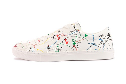 """Converse Japan Covers All Star Coupe With """"Dripping"""" Paint"""