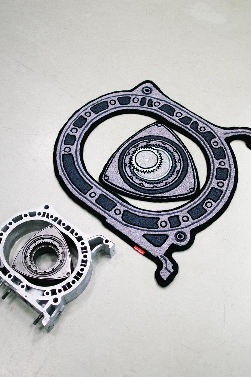 Copaze Rotary Engine Air Freshener Rug Release Info Buy Price Mazda RX-7 8