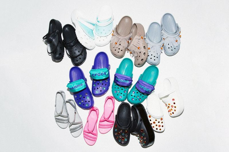crocs balenciaga christopher kane beams pleasures nicole mclaughlin post malone rubber clobs nicholas braun ugly shoe slipper