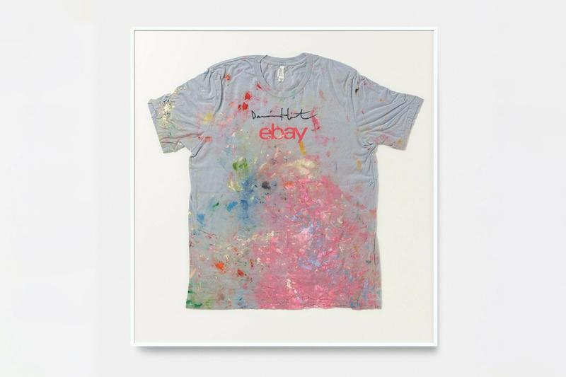 damien hirst ebay t shirt for sale instagram contest