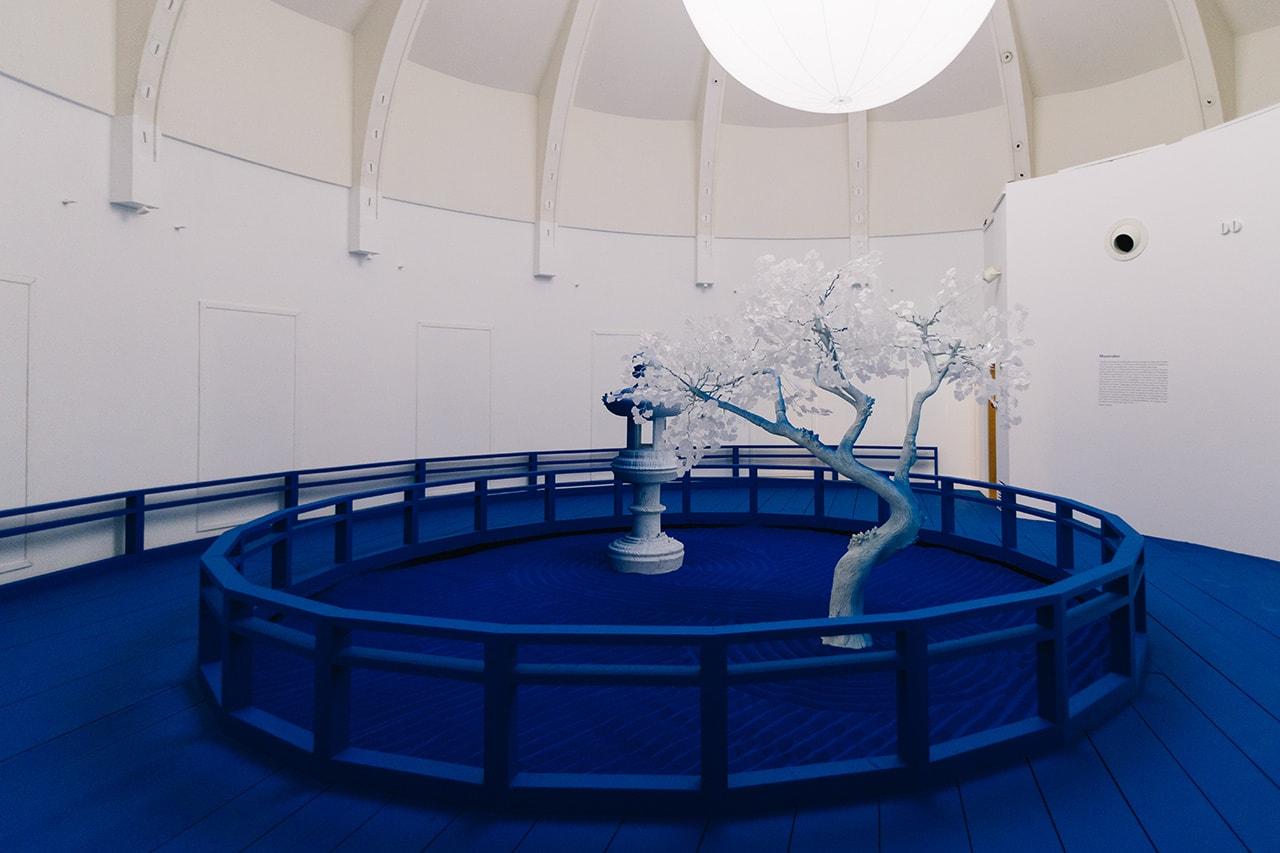 Daniel ARSHAM moon raker guiment Paris exhibition France arts Musée national des arts asiatiques Guimet