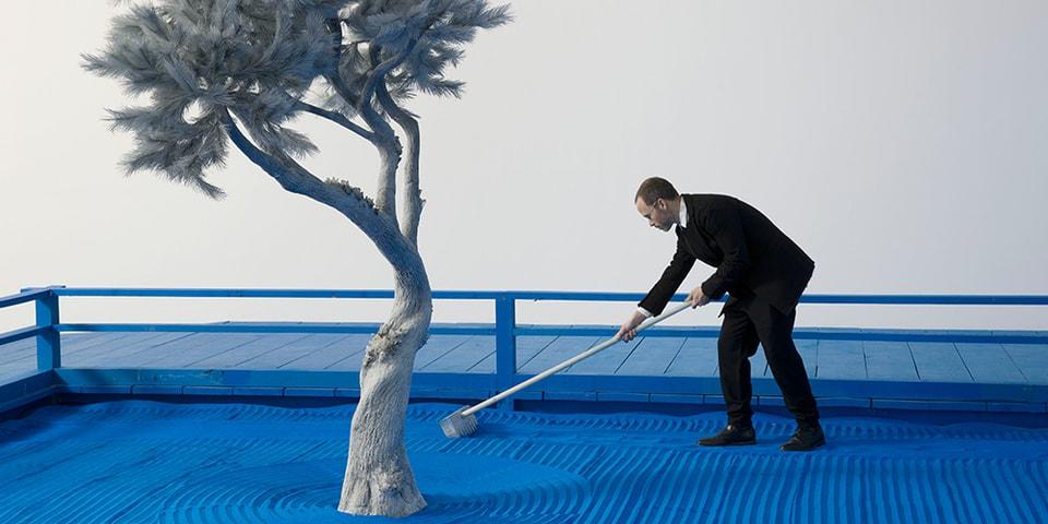 """Daniel Arsham's """"Moonraker"""" Series Opened Today at Paris' Musée Guimet"""