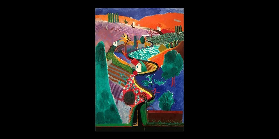 David Hockney Landscape Painting Expected to Fetch Over $30 Million USD