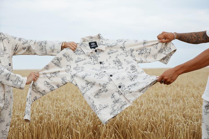 dickies life western revival capsule fall winter 2020 information release pattern Texan prints
