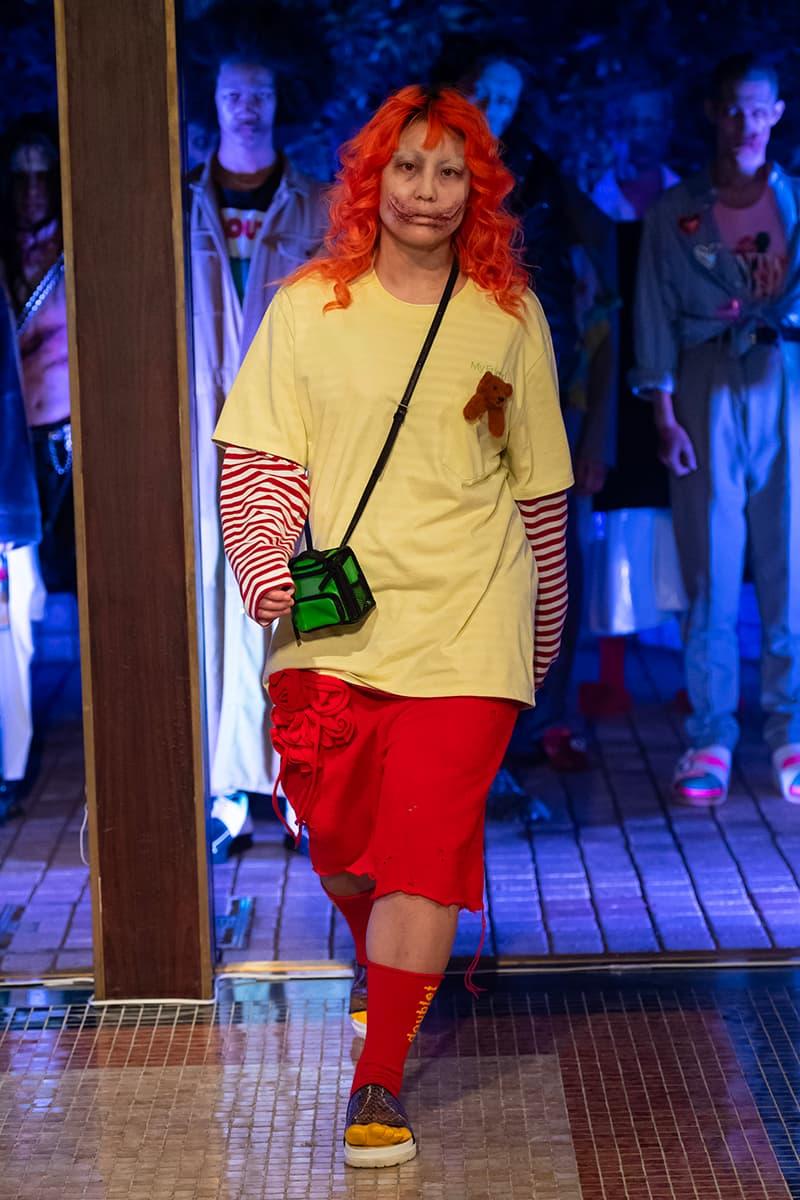 doublet Spring Summer 2021 Tokyo Fashion Week Runway Show menswear streetwear ss21 clothing jackets pants sweaters blazers trousers rakuten