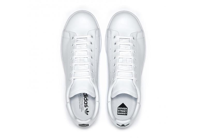 dover street market dsm adidas originals stan smith white black official release date info photos price store list buying guide