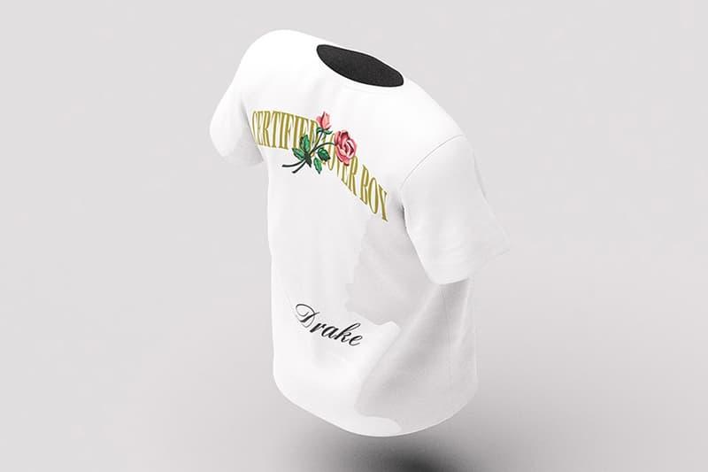drake nike certified lover boy merchandise album music hoodie bomber cap heart lips kiss tee t shirt