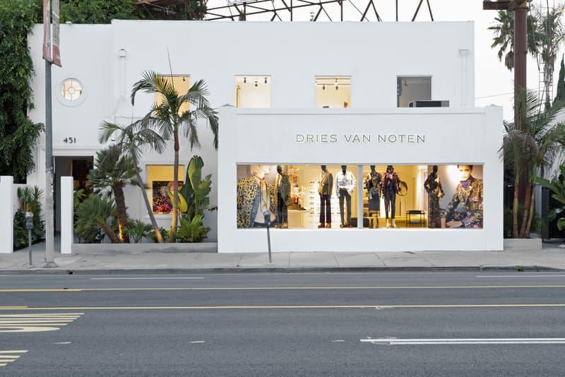 Dries Van Noten los angeles store flagship shop opening interview