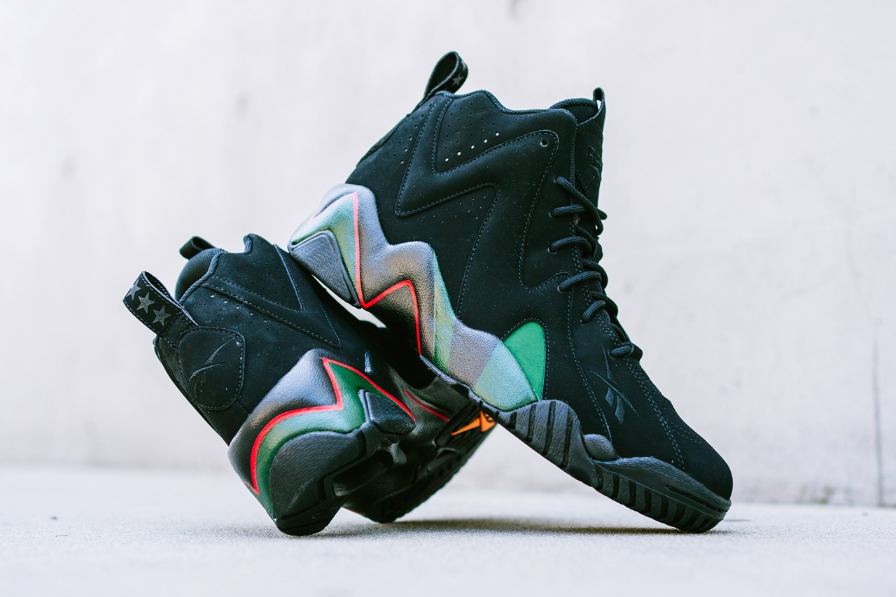 dtlr reebok kamikaze ii 2 glory years black green shawn kemp june saunders creative director exclusive interview release date info photos price store list buying guide