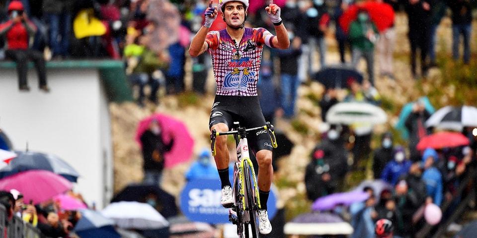 EF Pro Cycling Team Wins Giro D'Italia Stage Victory Despite Palace x Rapha Jersey Fine