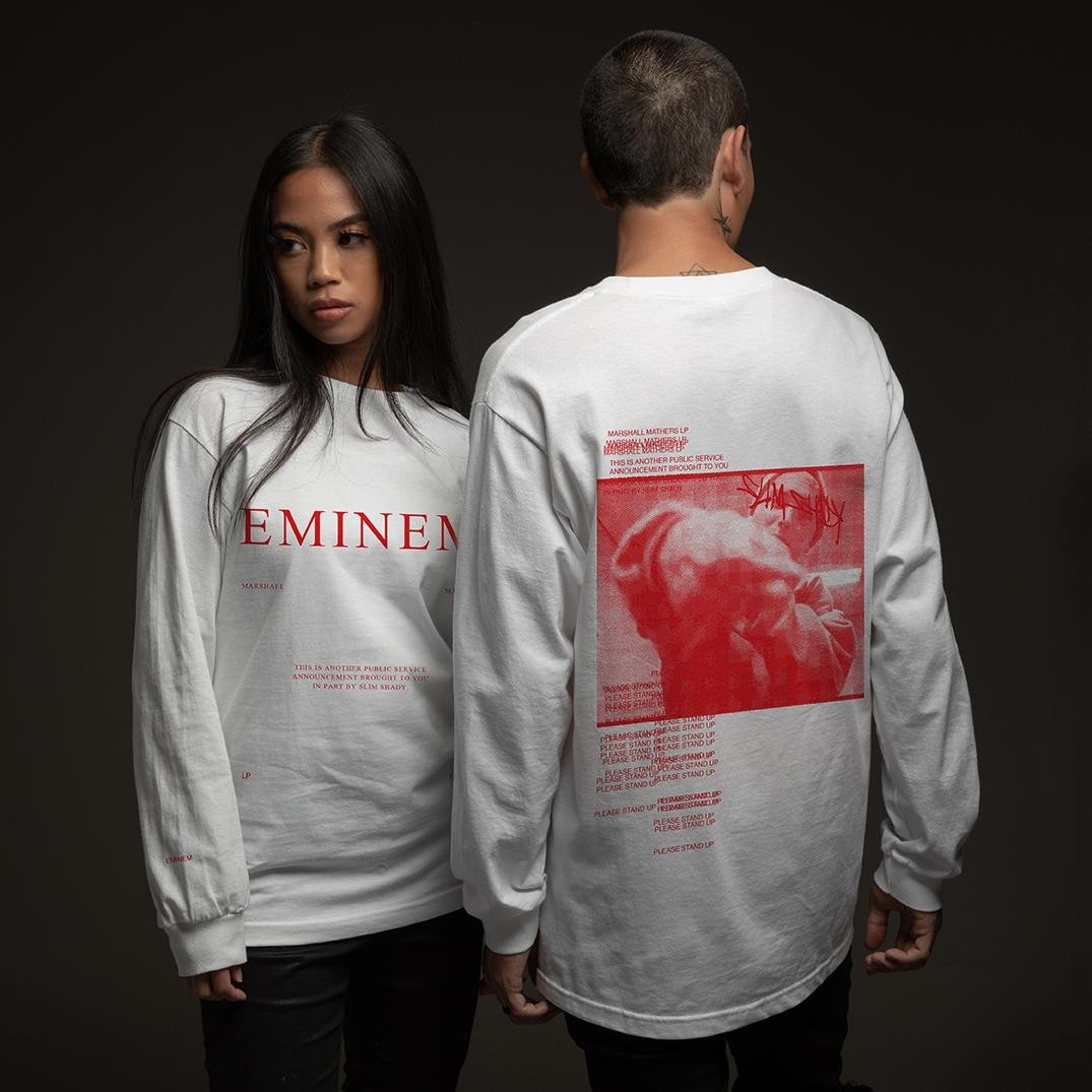 Eminem 'Marshall Mathers LP' 20th Anniversary merchandise the collection clothing apparel release date info buy october 29