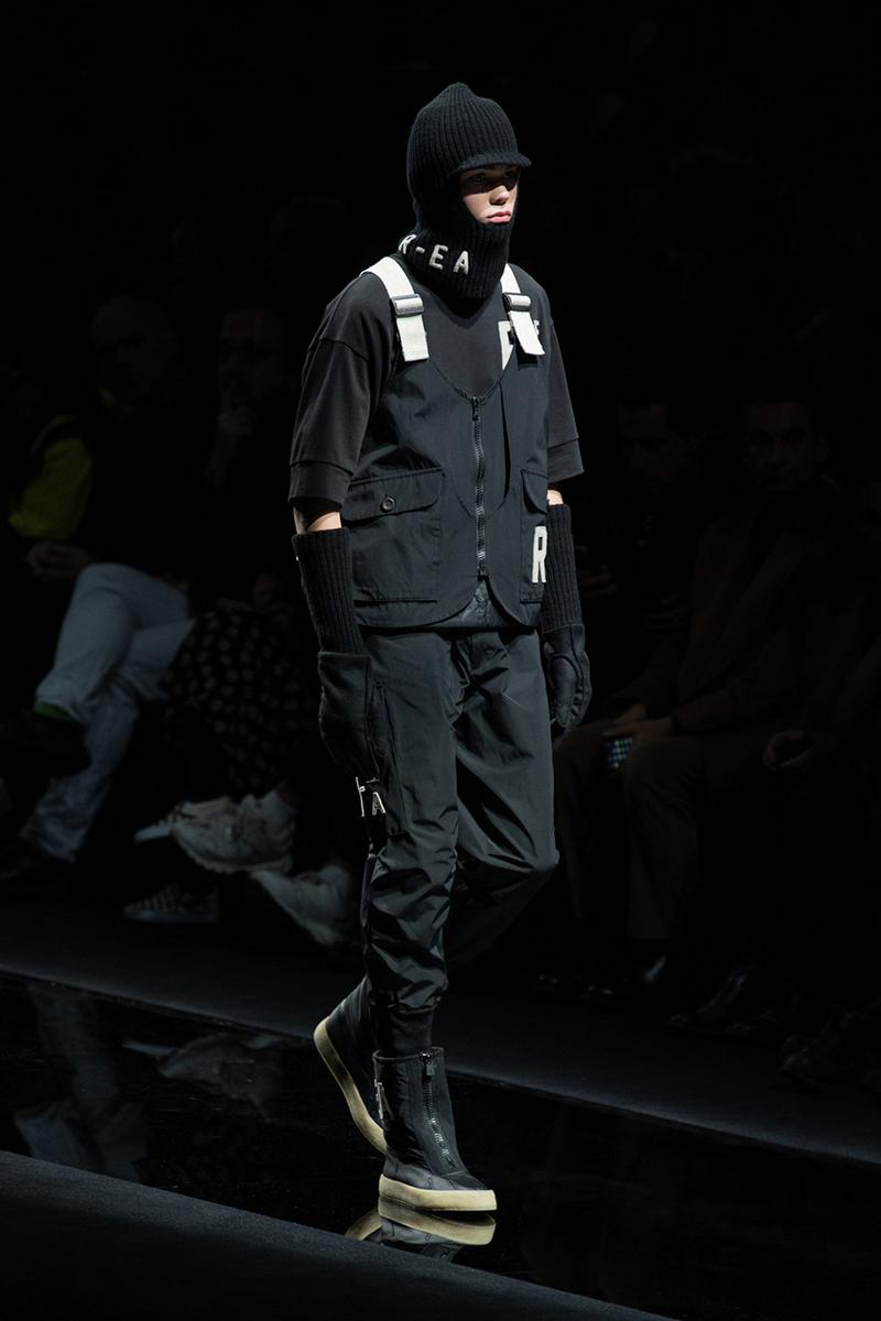 Emporio Armani Introduces Transparent and Traceable R-EA Collection Sustainable Recycled Fashion Hypebeast Workwear