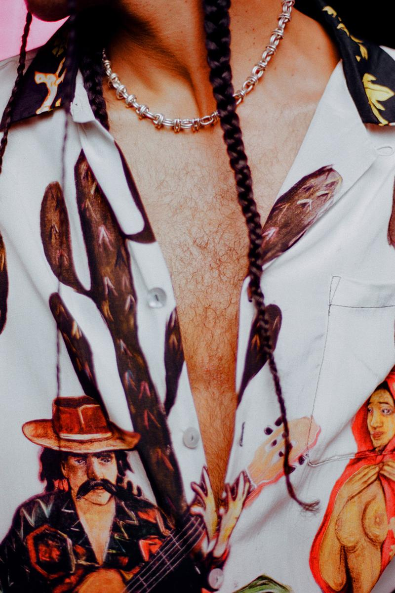 Endless Joy FW20 art fashion Stevie Alexandra Anderson fall winter ln-cc matches ssense silk shirts pants overshirts