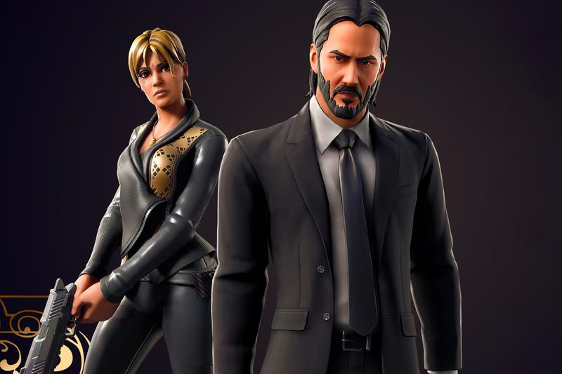 epic games Fortnite Brings Back John Wick Skin Boogeyman Wrap, Gun Bag Back Bling, Simple Sledge Pickaxe Sofia parabellum