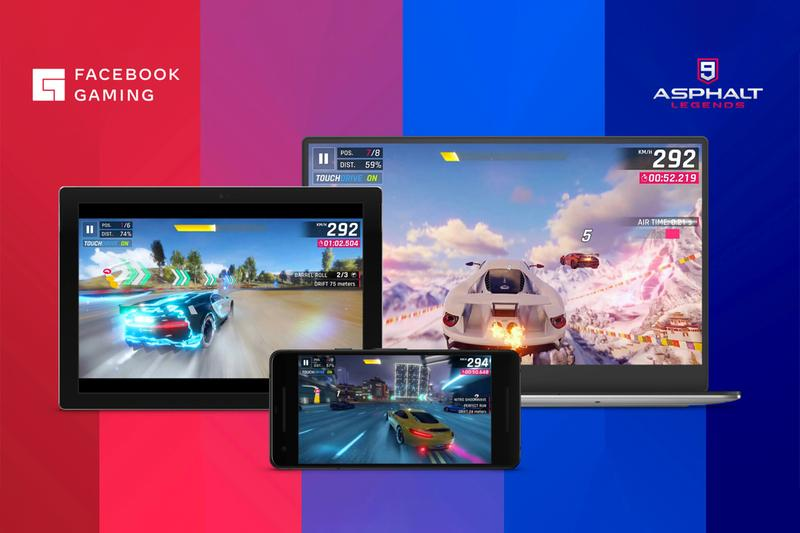 facebook gaming cloud streaming launch announcement web browser pc mac android mobile app