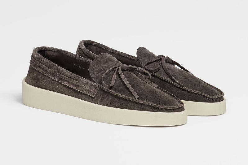 Fear of God Exclusively for Ermenegildo Zegna Footwear Collection suede lace up loafers menswear release info