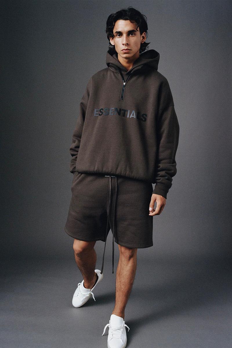 Fear of God Essentials Fall 2020 Collection Release Info Date Buy Price polo jersey tees T shirts pull-over fleeces zip-up tracksuits