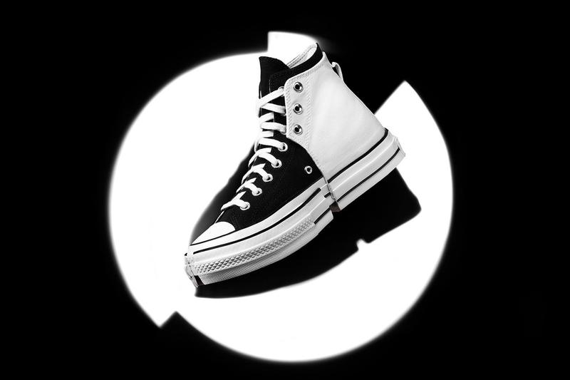"""Feng Chen Wang x Converse Chuck 70 """"2-In-1"""" Sneaker Collaboration Release Information First Closer Look Chinese Womenswear Designer Unisex Shoes Footwear Drop Date Hybrid Remade DIY Limited Edition HYPE"""