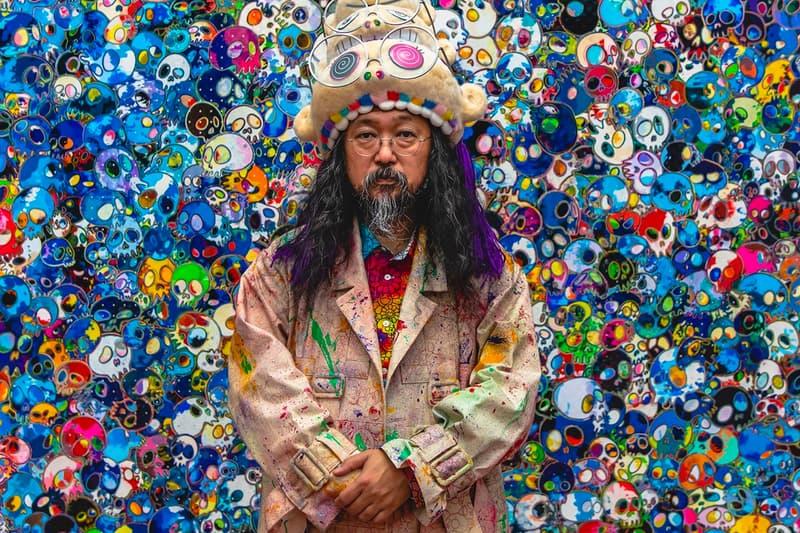 Free Takashi Murakami Artwork Paris Art Treasure Hunt Perrotin gallery french artworks daniel arsham wanted jr Emily Mae Smith