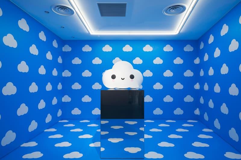 friendswithyou little cloud solo exhibition nanzuka tokyo japan