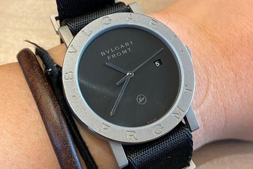 Hiroshi Fujiwara Teases Upcoming fragment design BVLGARI Roma Watch