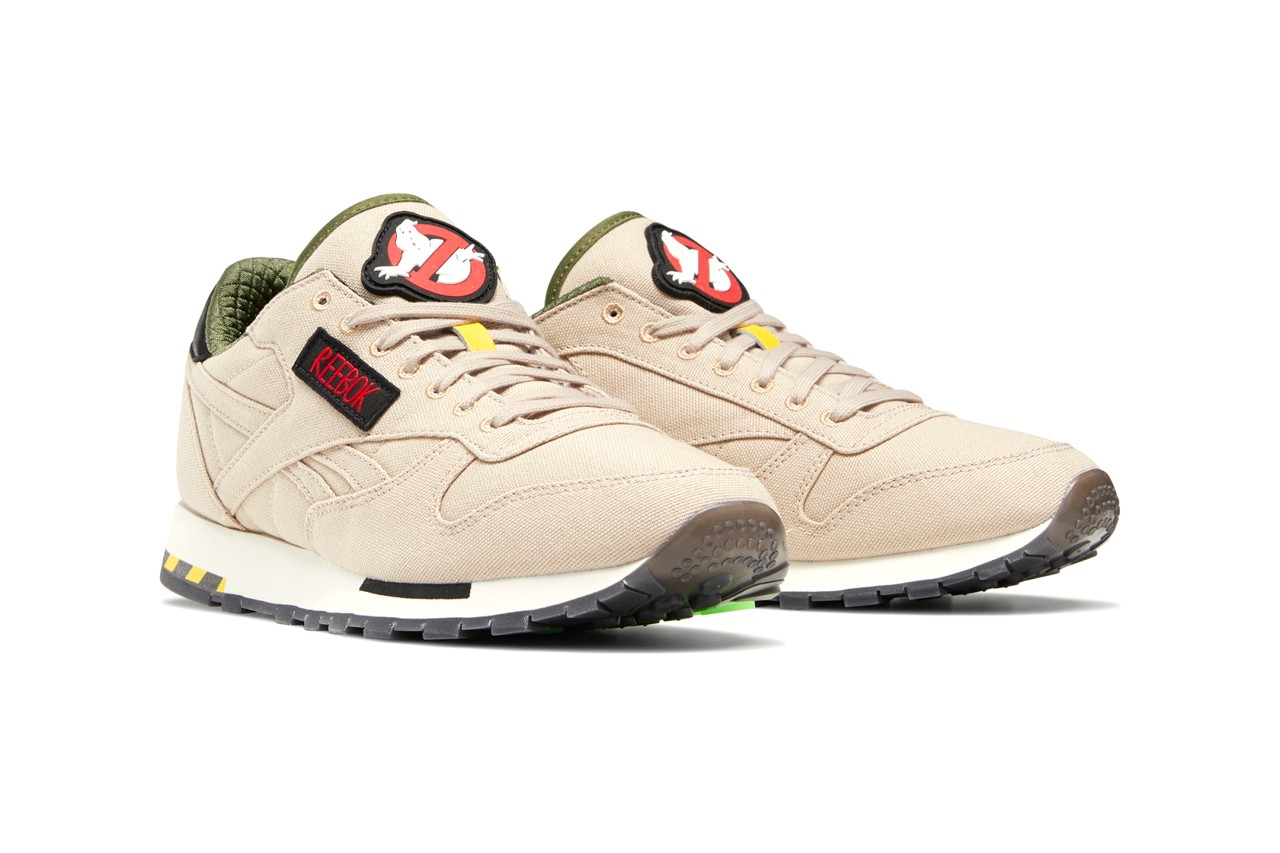 'Ghostbusters' x Reebok Ghost Smashers Classic Leather Sneaker Collaboration Release Information Closer Look
