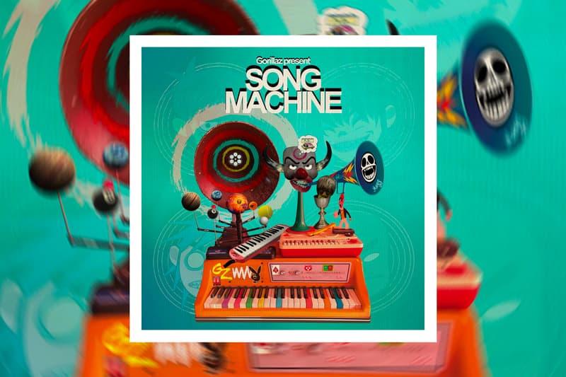 Gorillaz Song Machine Season One strange timez Album Stream damon albarn jamie hewlett