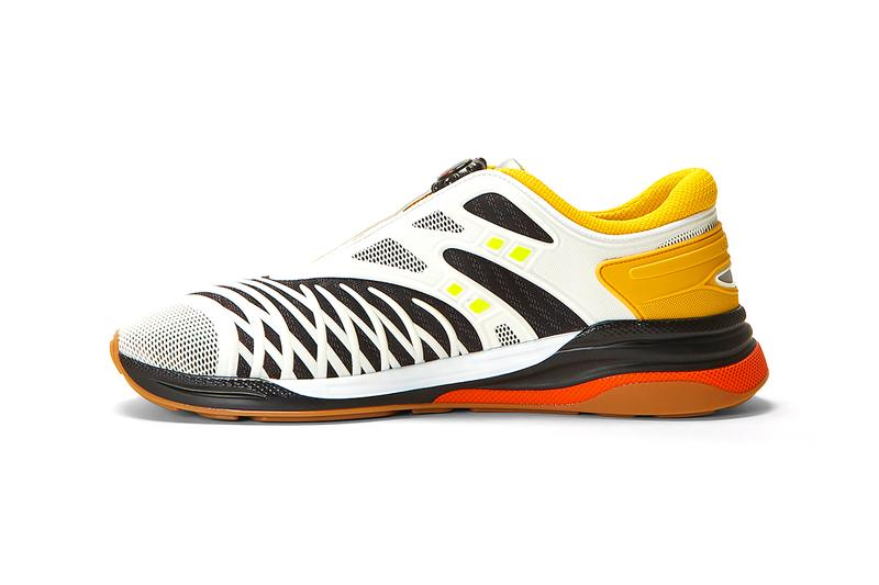 Gucci Ultrapace R Yellow menswear streetwear shoes sneakers trainers runners kicks footwear spring summer 2020 collection ss20