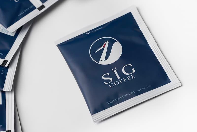 Guerrilla Group SIG-FC01 Single Use Drip Blend Coffee drinks caffeine  taiwan Taipei techwear home Infernal Affairs pulp fiction Sowut HowZ