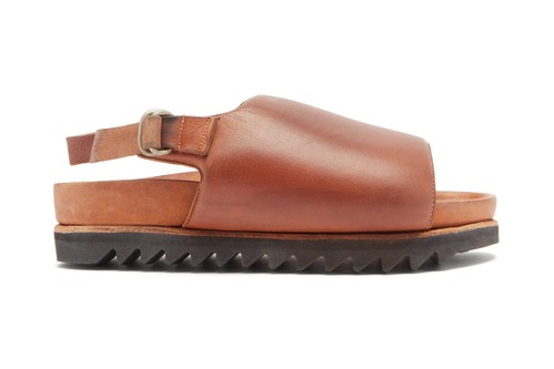Guidi's Ridged-Sole Leather Sandals Are a Luxe Fall Footwear Flex