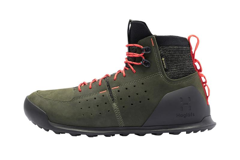 Haglöfs duality at1 gt release hiking boots Swedish outside outdoors outerwear Scandinavian boots two in one