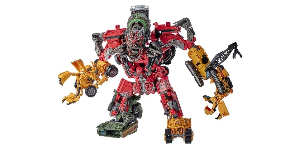 Hasbro Pulse Releases 8-Piece Studio Series 69 Devastator Transformer