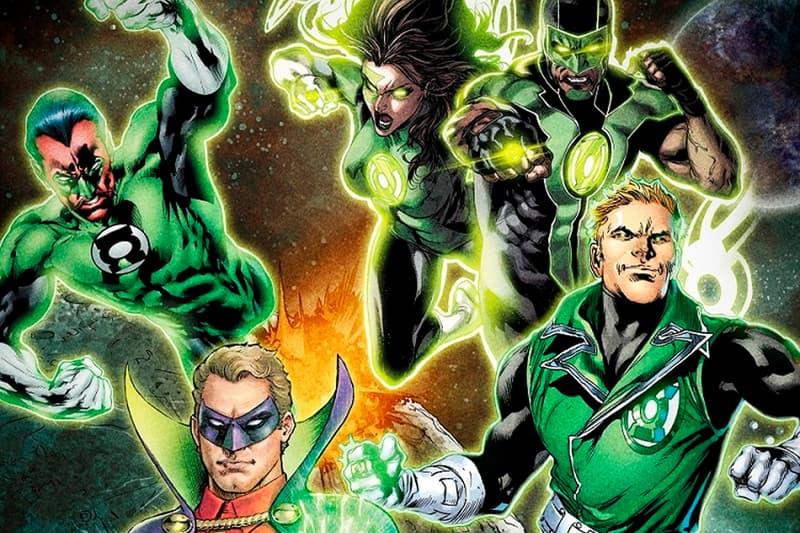 hbo max dc comics green lantern show series announcement Guy Gardner Jessica Cruz Simon Baz Alan Scott