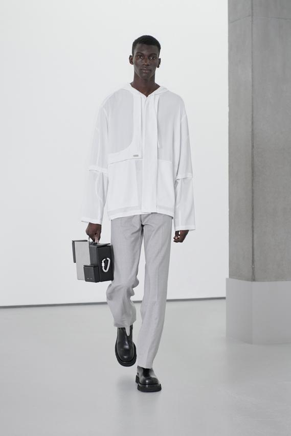 "HELIOT EMIL Spring/Summer 2021 ""Compos Mentis"" Collection Runway SS21 Julius Victor Juul Copenhagen Label Menswear Womenswear Lookbook Campaign"