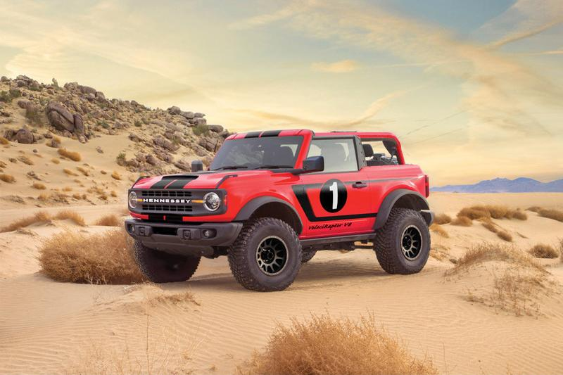 Hennessey Ford Bronco VelociRaptor V8 Announced 750 HP 2021 SUVS 4x4 Supercharged Off Road American Muscle Tuning Power Speed Performance $225,000 USD