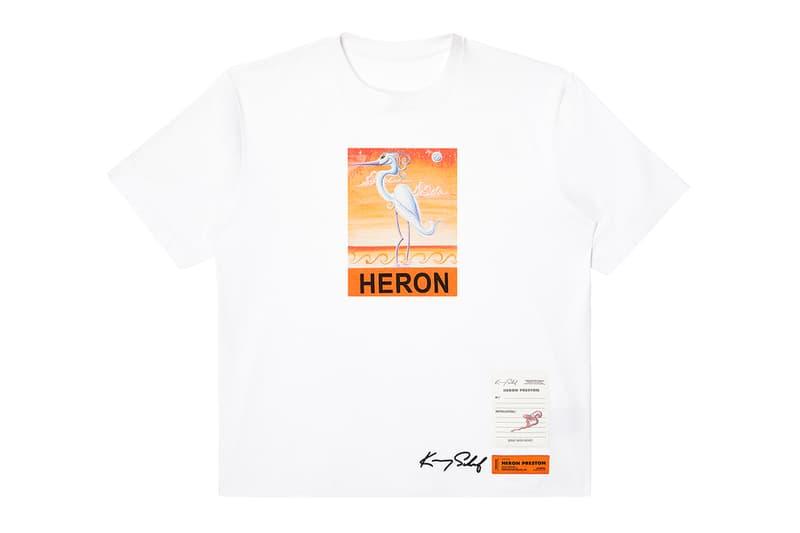 heron preston kenny scharf collaboration release fall winter