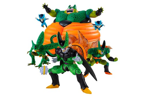 Bandai's New HG 'Dragon Ball' Set Depicts All Versions of Cell