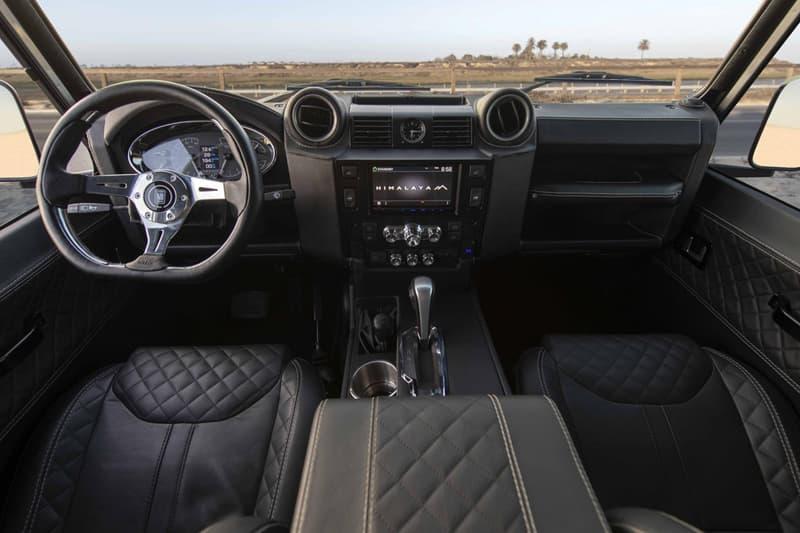 Himalaya Summit Series Land Rover Defender LT4 650 HP 4x4 SUV Off Road Vehicle Custom Tuned Classic LR 110 Power Performance Speed Utility