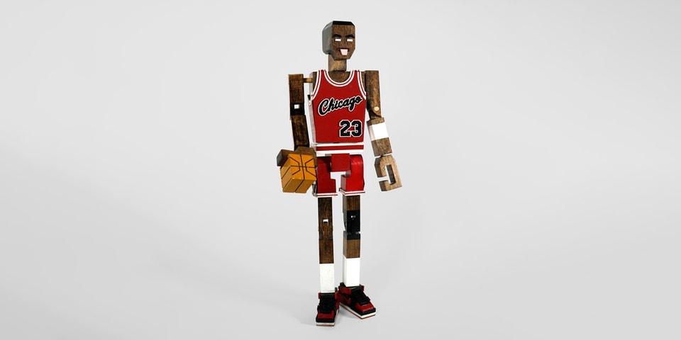 Honorroller Crafts Michael Jordan Wooden Sculpture