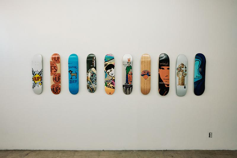 huf forever keith hufnagel art exhibition los angeles