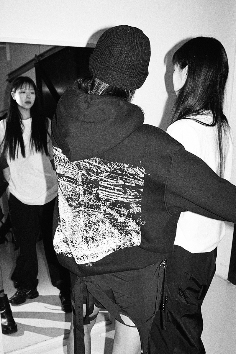 Woo Won Jae BLACK OUT Merch Hyein Seo Capsule Pop Up Release Info Jacket hoodie T shirt Pants bag Pack ring Hat Cap White AOMG