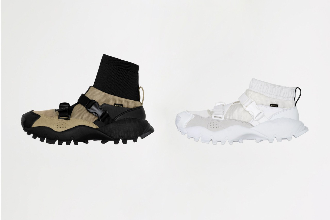 HYKE x adidas Fall/Winter 2020 Collaboration Collection fw20 seeulater feet you wear fyw sneakers consortium clothing apparel release date info buy japan november 25 drop colorway xta sandal boot white olive black tan jacket poncho skirt shirt tee logo Miho Nonaka