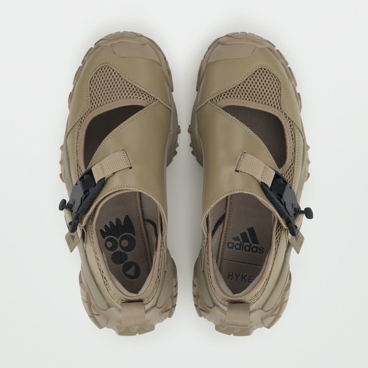 HYKE x adidas Originals Collaboration Fall/Winter 2020 Collection Sneaker FYW XTA Hiking Shoe Black Tan